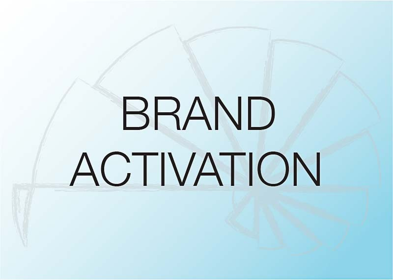 Actions that help bring to life brand or increase brand visibility.